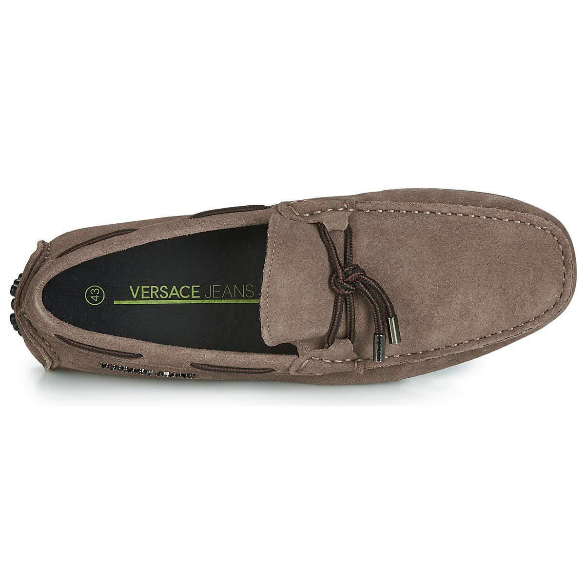 Versace Jeans Driver Mens Shoes Tan