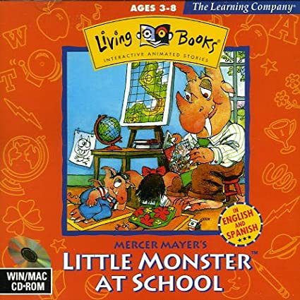 amazon living books little monster at school 輸入版