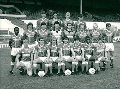 Vintage photo of Cardiff City footbal club