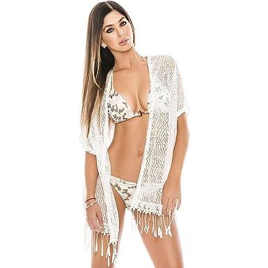 6e471b56b91 Babalu Fashion Bathing Suits Cover ups for Women Salidas de Baño para Mujer  at Amazon Women s Clothing store