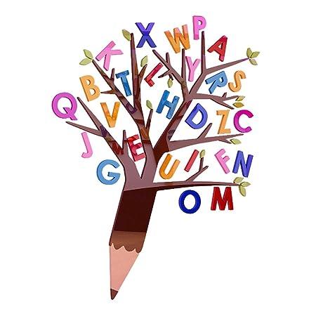 Kindergarten Wandoberfläche Dekoration Aufkleber Englisch Brief