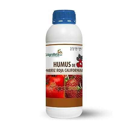 humus de lombriz líquido