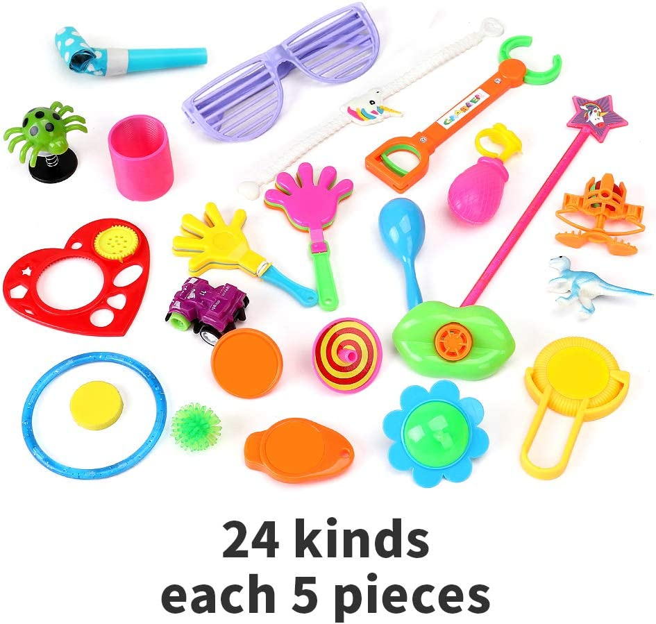 NEW BULK BAG 100 PARTY LOOT PINATA TOYS FILLERS FAVOURS LUCKY DIP 14p each 130 L