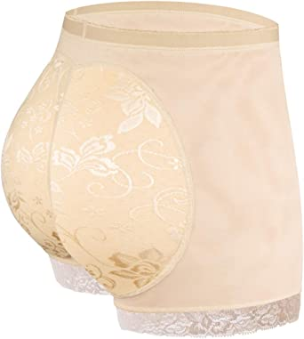 Joyshaper Butt Lifter Panties for Women Padded Underwear Hip Enhancer Shapewear Tummy Control Briefs
