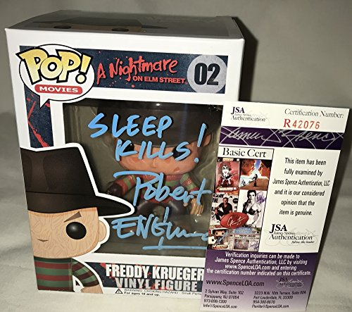 Robert Englund Signed / Autographed Freddy Krueger Friday the 13th Sleep Kills Funko Pop Toy Doll Figurine - JSA Certified (Autographed Bowl)