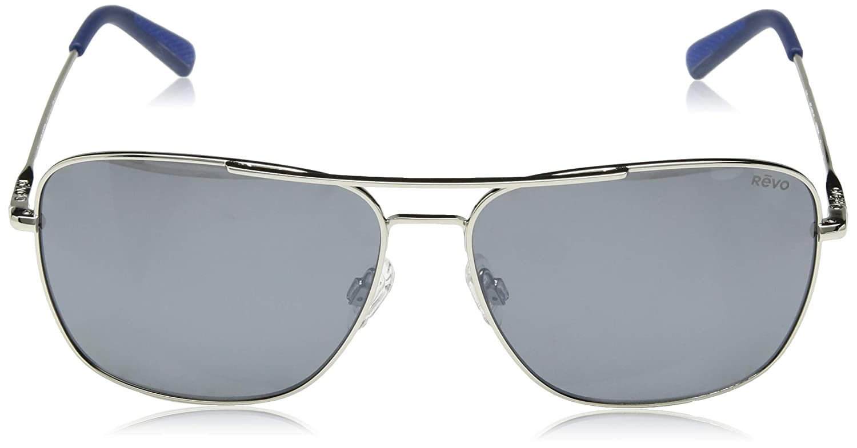Chrome Revo Re 1082 Harbor Aviator Polarized Sport Fashion Sunglasses 60 mm Revo Sunglasses RE 1082 03 GY