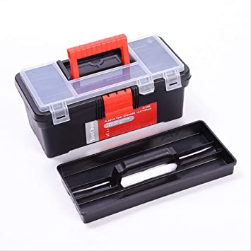 caja de herramientas completa Hardware Caja de herramientas Componentes de la herramienta Plástico Caja de almacenamiento de doble capa Reparación de automóviles Caja de electricista Maleta Toolbox: Amazon.es: Bricolaje y herramientas