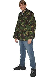 b8324a90b50 Adults Army DPM Rodney Trotter Shirt Only Fools   Horses Fancy Dress  Accessory 40 -