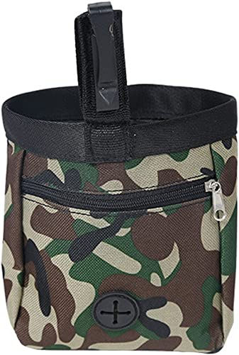 Diamondo Camouflage Pet Dog Puppy Training Pouch Walking Treat Snack Bag Dispenser