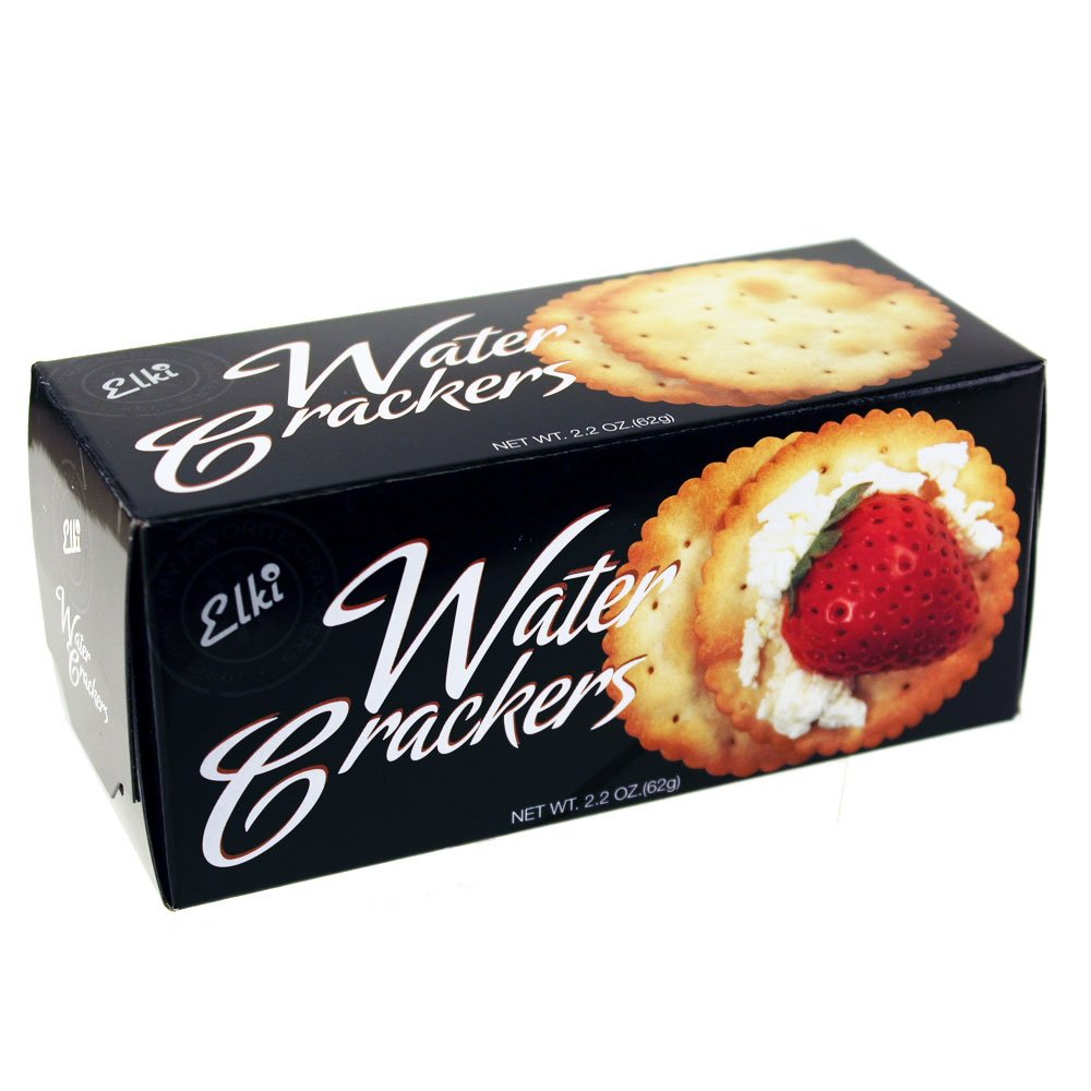 Elki Gourmet Water Crackers 2.2 Oz