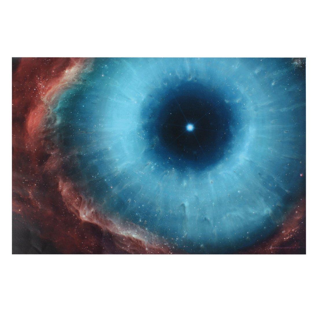Amazon.com: eDealMax Etiqueta Con el patrón PC Cielo del ojo portátil de equipaje del coche autoadhesivo etiqueta: Electronics