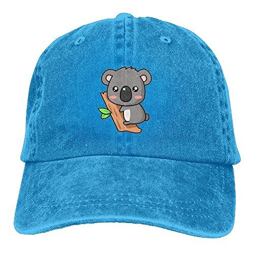 JF-X Adult Cowboy Hat Cute Koala Wood Unisex Adjustable Baseball Trucker (Fancy Dress Costumes Australia Cheap)
