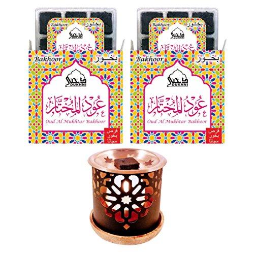 - Bakhoor Oud Mukhtar & Persian Bakhoor Burner