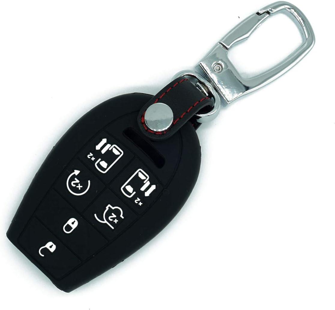 Key Fob fits 2008-2015 Jeep Dodge Chrysler Ram VW Keyless Entry Smart Remote M3N5WY783X, IYZ-C01C