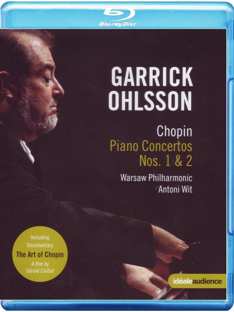 Chopin: Klavierkonzerte [Alemania] [Blu-ray]