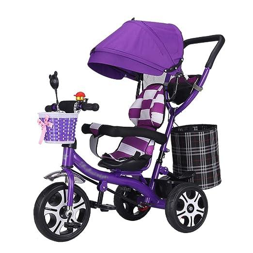 QDY-Strollers Carro de bebé 4 en 1 con toldo Ajustable y Asiento ...