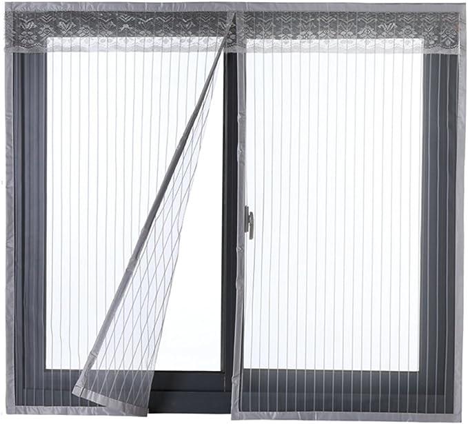 Mosquitera Icegrey para puertas y ventanas, protección contra insectos, imán, mosquitera para la puerta del balcón, 34 tamaños, adecuada para hasta máximo 200 cm x 200 cm , ICG-80651-1-3-(80x120cm): Amazon.es: Bricolaje y herramientas
