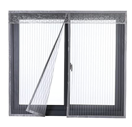 Icegrey Fly screen for door or window // magnetic fly insect screen door // curtain for balcony ICG-80651-1-4- 34/ sizes up to 200/ x 200 cm max 120x130cm