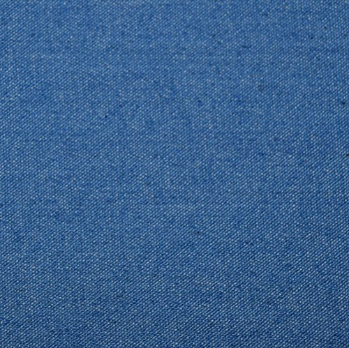 8 oz Stretch Cotton Denim Fabric by the yard - Light Blue (Cotton Denim Fabric)