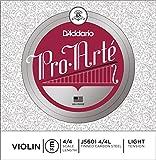 D\'Addario Pro-Arte Violin Single E String, 4/4 Scale, Light Tension
