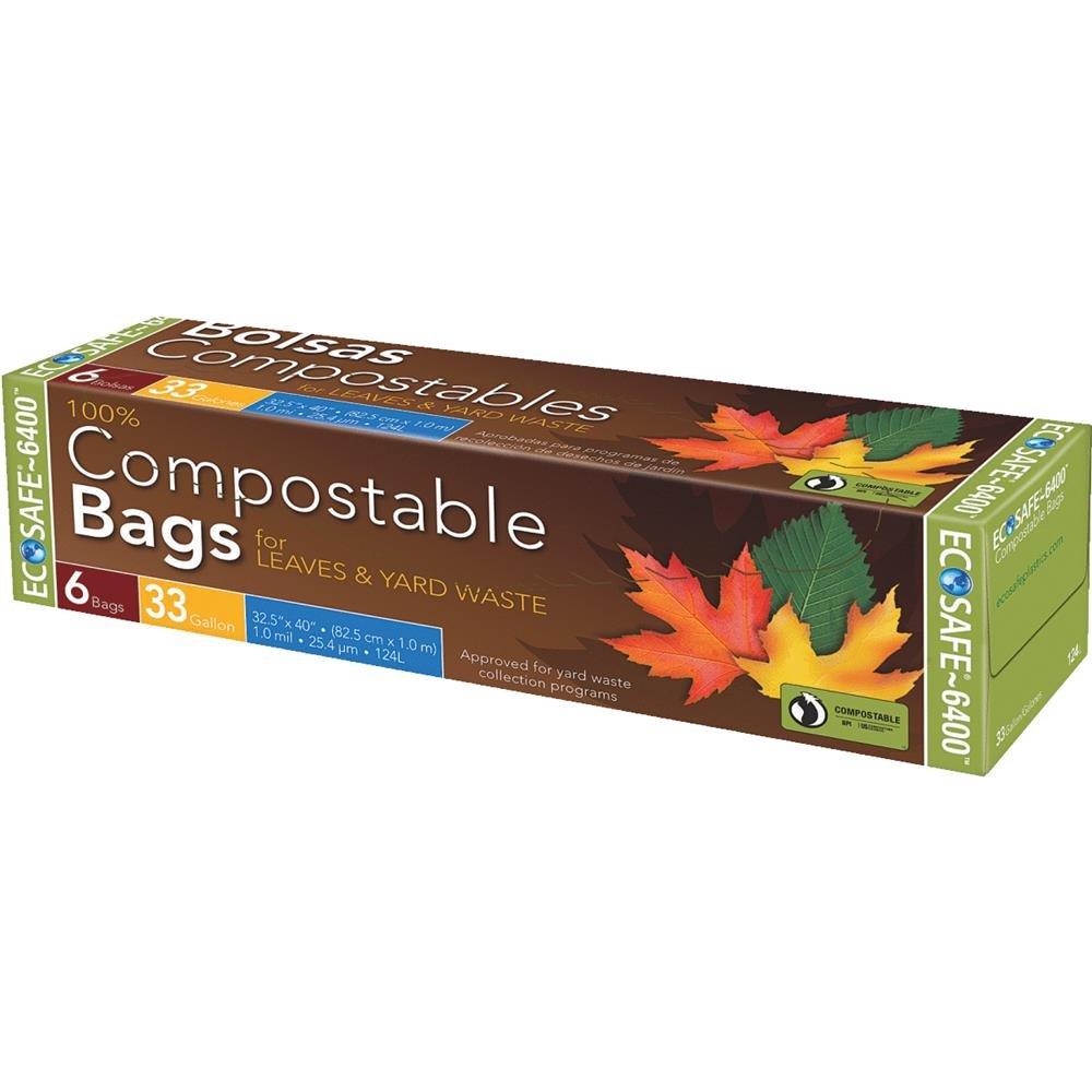 EcoSafe-6400 Compostable Trash Bag Presto Products