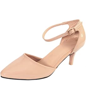 232e8bd5ae79d SHERRIF SHOES Heels: Buy Online at Low Prices in India - Amazon.in