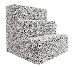 New Cat Condos Premier Pet Stairs, Gray