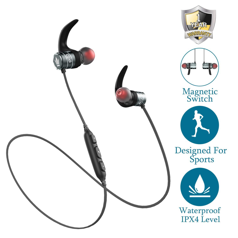 Czar Acoustics AK1 Mentor Qualcomm CSR Chipset Based Wireless Bluetooth  Hands-Free Headphones Gun with on/Off Function