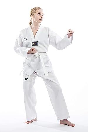 Tusah Traje de Taekwondo Starter - TKD Dobok - Parte Superior con ...