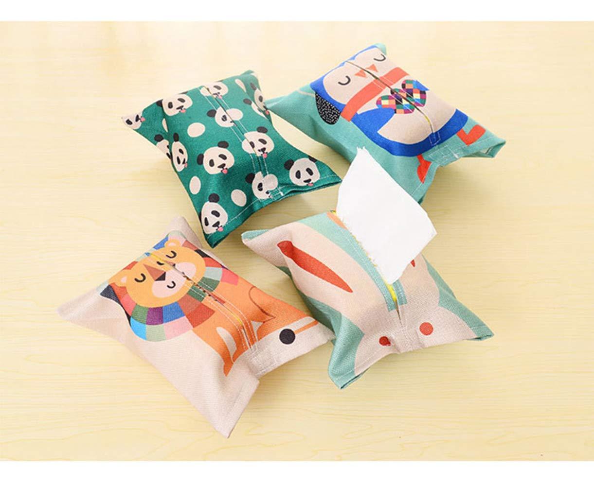 poni KAEHA dhzh-0001-xmm-x bonita caja de algod/ón y lino con animales extra/íbles ponis