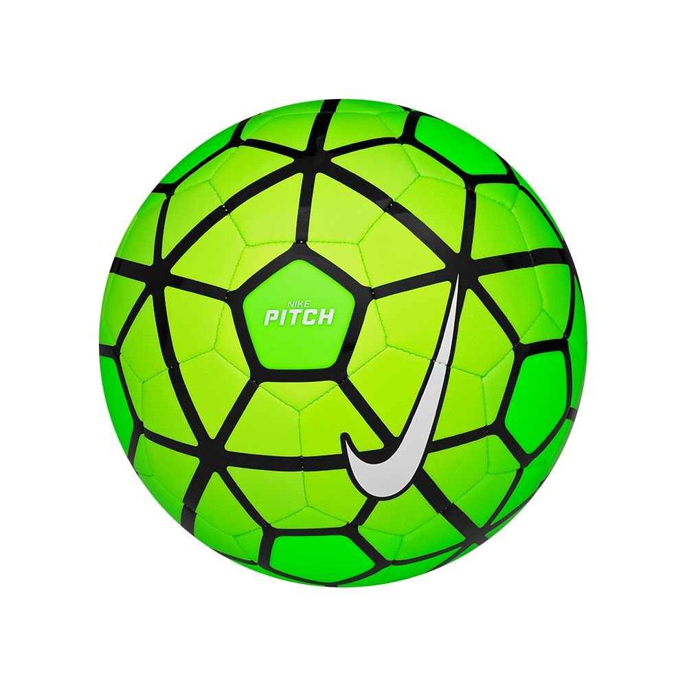 Nike Balón Pitch, Electric Green/Volt/White, 5, SC2790-336: Amazon ...