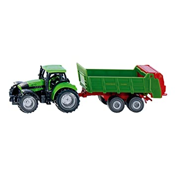 Siku 1673 - Traktor mit Universalstreuer  Amazon.de  Spielzeug f6dccc9f9cca4