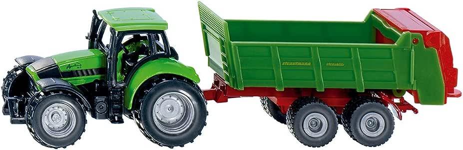 Traktor mit Universalstreuer Siku 1673