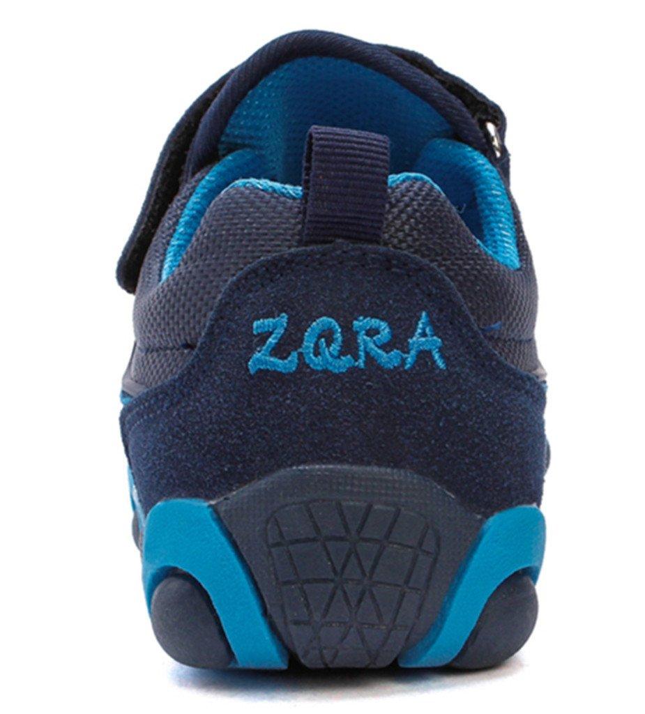 DADAWEN Boy's Girl's Casual Strap Light Weight Sneakers Running Shoes(Toddler/Little Kid/Big Kid) Blue US Size 5 M Toddler by DADAWEN (Image #2)