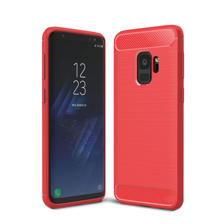 Amazon.com: Phone Case for Samsung Galaxy S9 Plus Carbon ...