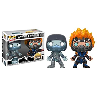 Funko Mortal Kombat - Scorpion & Subzero 2 Pack - Only at GameStop: Toys & Games