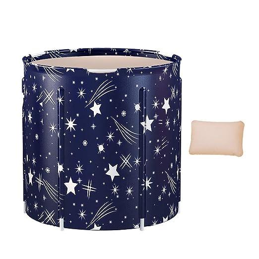 Bañera plegable Bañera de cubo de plástico de 3 capas más ...