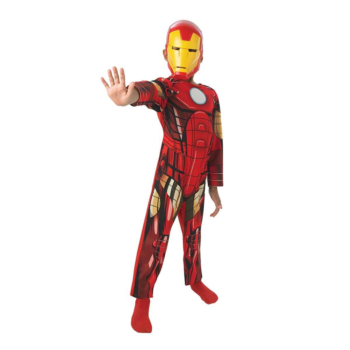 Rubie's-déguisement officiel - Marvel- Costume  Iron Man Avengers Assemble -Taille S- CS887750/S Rubies