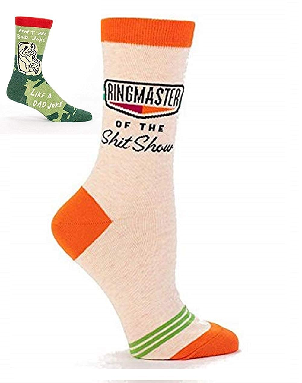Ringmaster of the Shit Show Crew Socks SW463