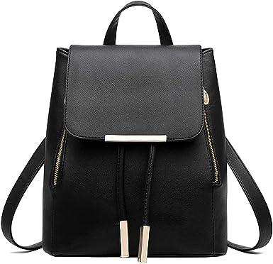 Multipurpose Backpack PU Leather Zipper Women Shoulder Bag Ladies Handbags Gifts