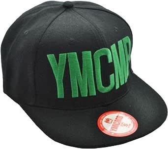 Ymcmb-Gorra oficial, diseño impreso con texto
