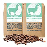 Backyard Beans Roast Coffee Beans – Wild Espresso – Medium Roast Coffee Blend – Specialty Grade Blend of Latin American & Ethiopian Coffee Beans – Small Batch Roast – Organic Coffee Beans – 24 Ounces For Sale