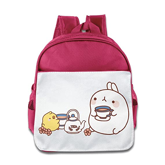 Amazon.com: Quasi Molang Lovely Rabbit Kawaii Cartoon Custom Children Kids Girls Boys Baby School Bags Book Bags Backpack: Home & Kitchen