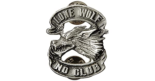 Amazon.com: Hot Leathers Lone Wolf Pin: Automotive