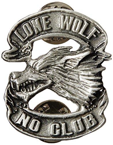 Hot Leathers PNA1048 Lone Wolf Pin