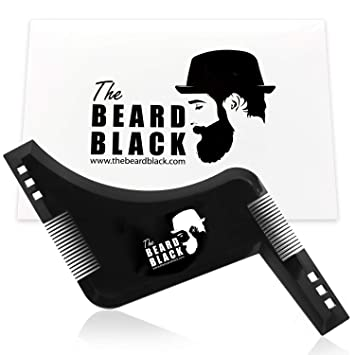 cbbabbc975301 The Beard Black Beard Shaping   Styling Tool with inbuilt Comb for Perfect  line up