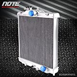 40mm radiator - 40mm Aluminum Radiator For HONDA EG EK CIVIC/DEL SOL INTEGRA B16/18 92-00