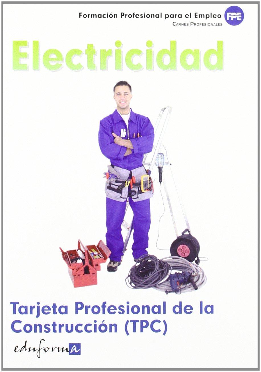 Tarjeta Profesional De La Construcción Tpc . Electricidad. Carnés ...