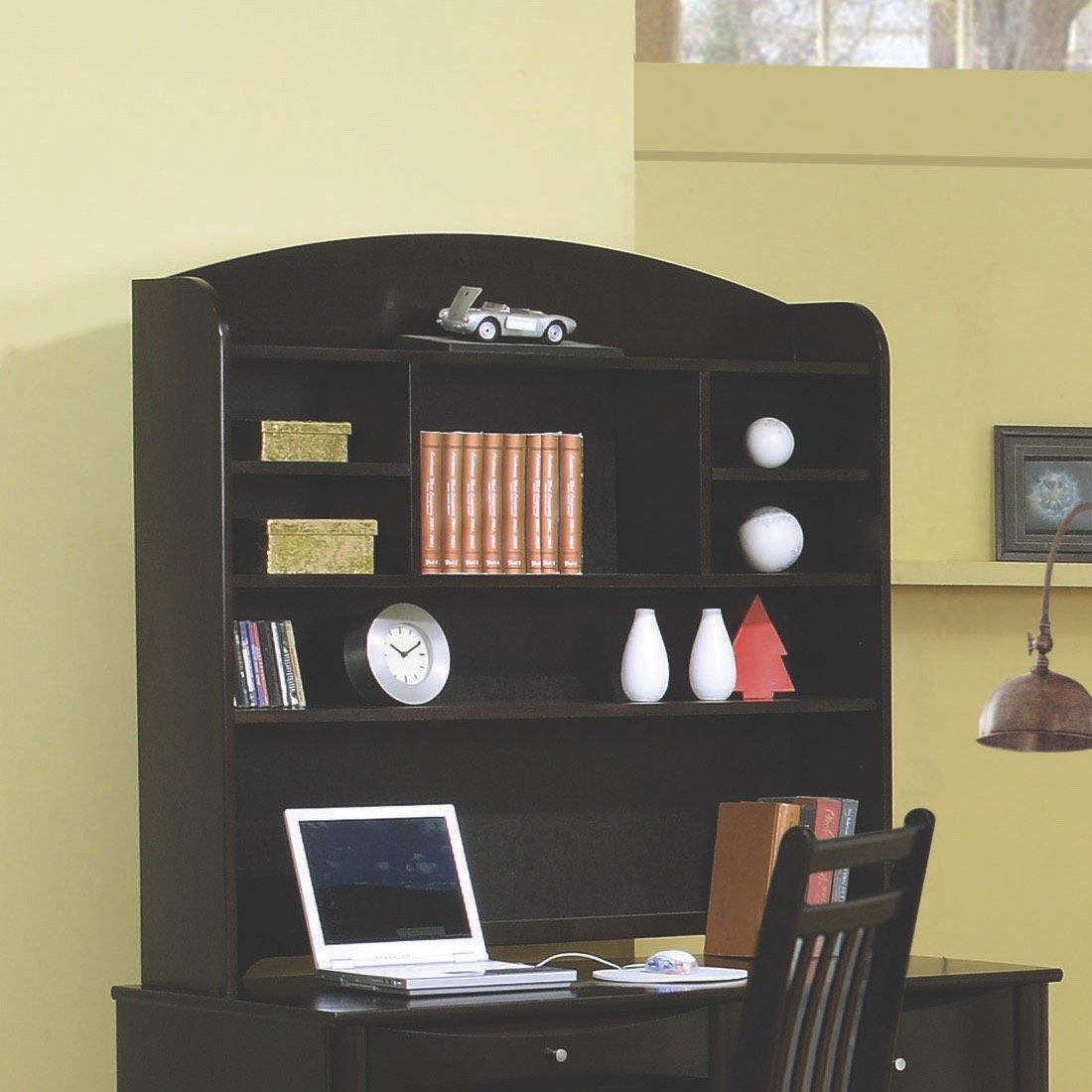 Coaster Home Furnishings 400571T Transitional Hutch, Cappuccino
