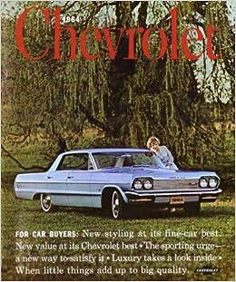 1964 CHEVROLET ORIGINAL SALES BROCHURE! LOADED WITH ILLUSTRATIONS /& INFORMATION